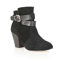 Ravel - Black 'Louisiana' suede ankle boots