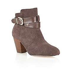 Ravel - Brown 'Louisiana' soft suede ankle boots