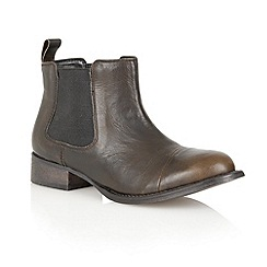 Ravel - Black 'Maryland' leather ankle boots
