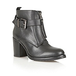 Ravel - Black 'Michigan' ladies ankle boots