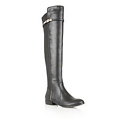 Ravel - Black 'Washington' knee high boots