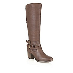 Ravel - Brown 'Utah' leather knee high boots