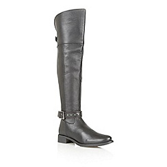 Ravel - Black 'Arkansas' leather riding boots