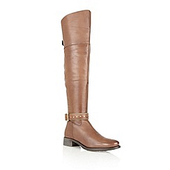 Ravel - Light brown 'Arkansas' leather riding boots