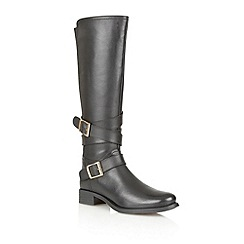 Ravel - Black 'Hawaii' leather knee high riding boots
