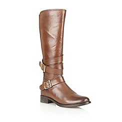 Ravel - Tan 'Hawaii' leather knee high riding boots