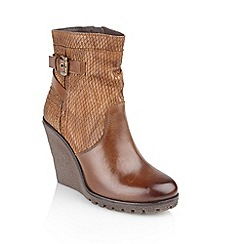 Ravel - Honey 'Honolulu' ladies platform ankle boots