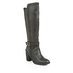 Ravel - Black 'Vancouver' ladies knee high boots