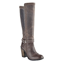 Ravel - Grey 'Vancouver' ladies knee high boots