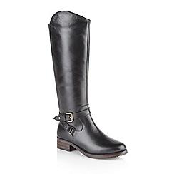 Ravel - Black 'Langley' ladies knee high boots