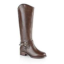 Ravel - Tan 'Langley' ladies knee high boots