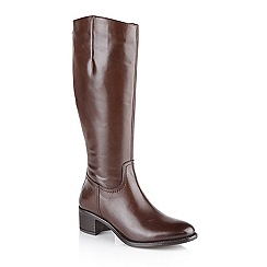 Ravel - Brown 'Pickering' ladies knee high boots