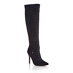 Ravel - Black 'Barrie' ladies over the knee boots