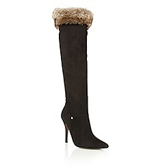 Ravel - Black 'Crockett' knee high boots
