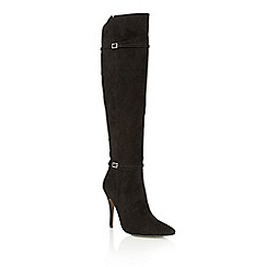 Ravel - Black 'Denton' over the knee boots