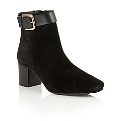 Ravel - Black suede 'Moore' ankle boots
