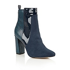 Ravel - Petrol 'Hale' ankle boots