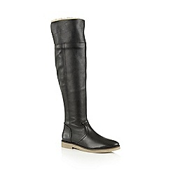 Ravel - Black 'Briscoe' knee high boots
