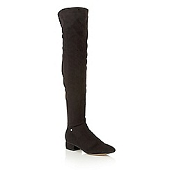 Ravel - Black 'Floyd' over the knee boots