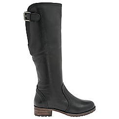 Ravel - Black 'Foley' ladies knee high boots