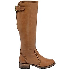 Ravel - Tan 'Foley' ladies knee high boots