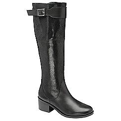 Ravel - Black 'gordo' knee high boots