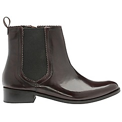 Ravel - Ox Blood 'Loxley' ladies chelsea ankle boots