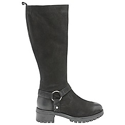 Ravel - Black 'Kingsfield' ladies knee high boots