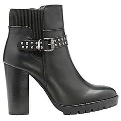 Ravel - Black 'Whatley' ladies high heeled ankle boots