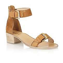 Ravel - Tan 'Gerbera' block heel sandals