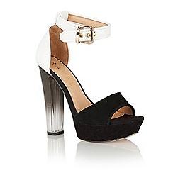 Ravel - Black 'Gladiolus' platform sandals