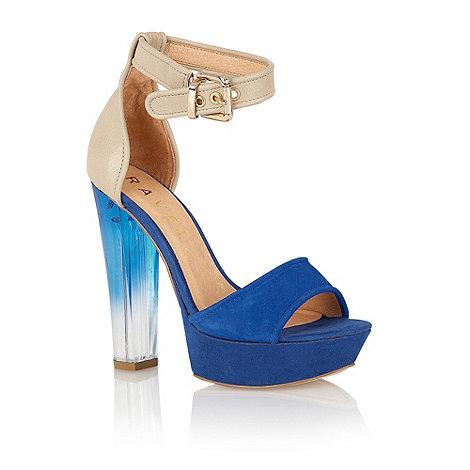 Ravel - Blue +Gladiolus+ platform sandals