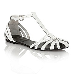 Ravel - White 'Arizona' ladies sandals