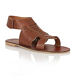 Ravel - Brown 'Missouri' ladies sandals