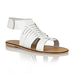 Ravel - White 'Missouri' ladies sandals