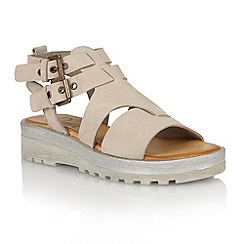 Ravel - Taupe 'Georgia' ladies sandals