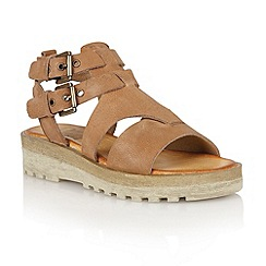 Ravel - Light brown 'Georgia' ladies sandals