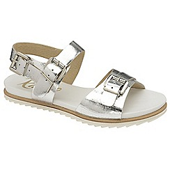 Ravel - Silver 'Moab' ladies open toe ankle strap sandals