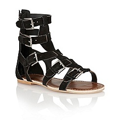 Ravel - Black 'Los Angeles' ladies sandals