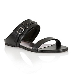 Ravel - Black 'San Diego' ladies sandals
