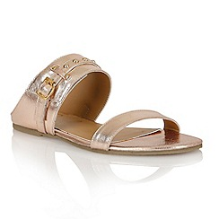 Ravel - Rose gold 'San Diego' ladies sandals