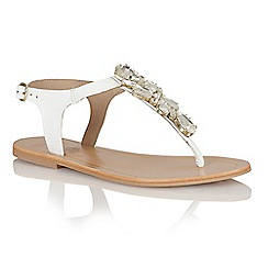 Ravel - White 'El Paso' ladies sandals