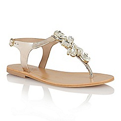 Ravel - Gold 'El Paso' ladies sandals