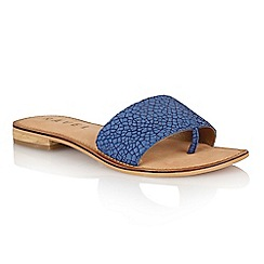 Ravel - Blue crackle 'Cusseta' ladies sandals