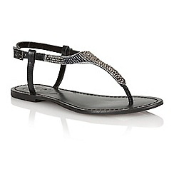 Ravel - Black 'Huntsville' ladies sandals