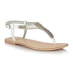 Ravel - White 'Huntsville' ladies sandals