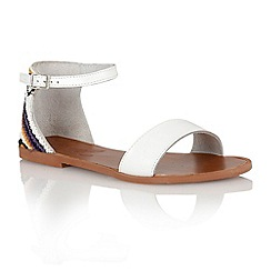 Ravel - White 'Wichita' ladies sandals