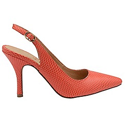 Ravel - Coral snake 'Kinney' high heeled slip on shoes