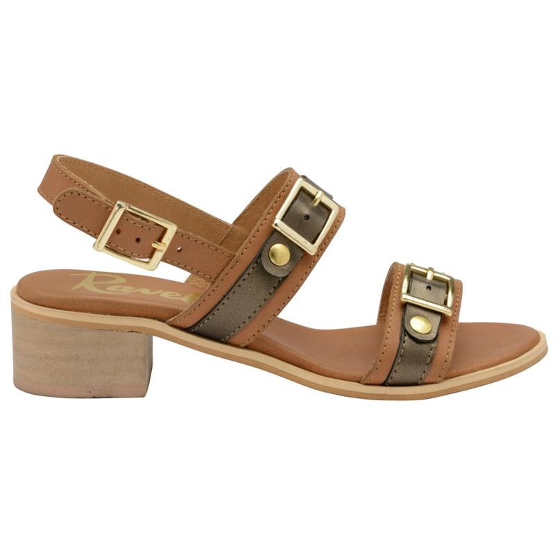 25c801b7e12 Womens Ravel Brown  sherma  Ladies Ankle Strap Sandals