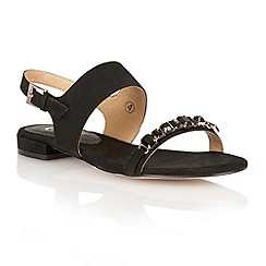 Ravel - Black 'Palmdale' sling-back ladies sandals